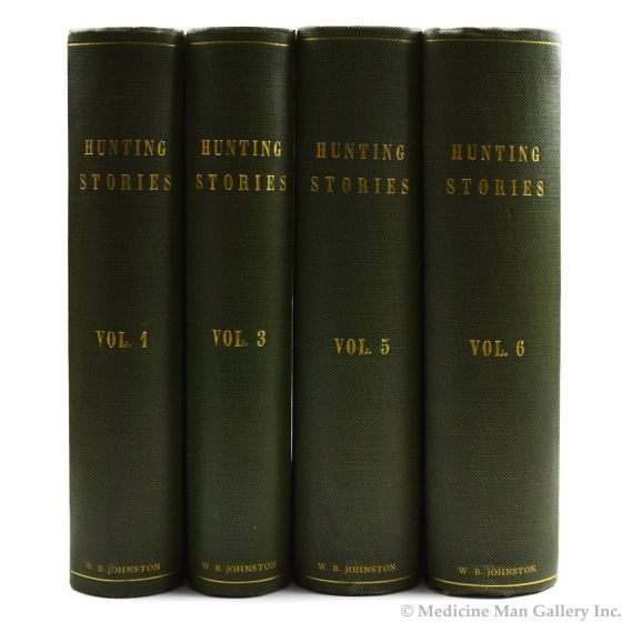 Hunting Stories, Volume 1, 3, 5, and 6 by W.B. Johnston