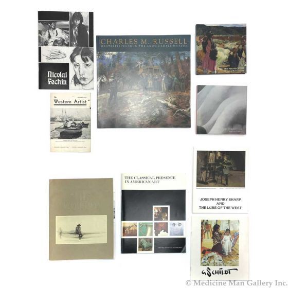 Collection of Western Art History Books