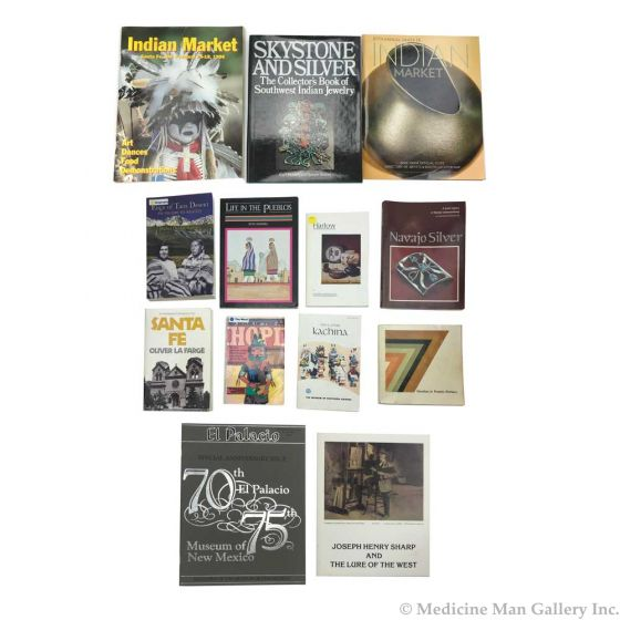 Collection of Native American and Southwestern History and Art Books