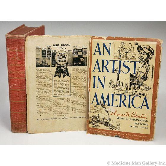 An Artist in America by Thomas Hart Benton (1889-1975)