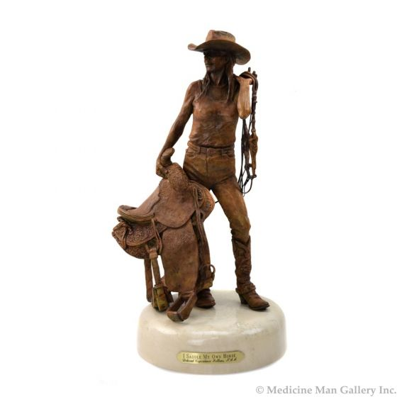 Deborah Copenhaver-Fellows - I Saddle My Own Horse (Maquette)