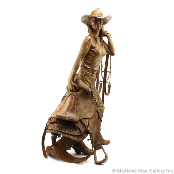 Deborah Copenhaver-Fellows, NSS - I Saddle My Own Horses