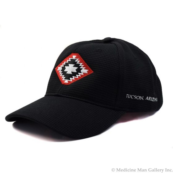Mark Sublette Medicine Man Gallery Embroidered Hat - Black