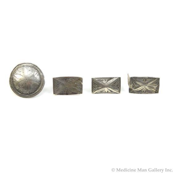 Plains Belt Decoration Set with German Silver c. 1890