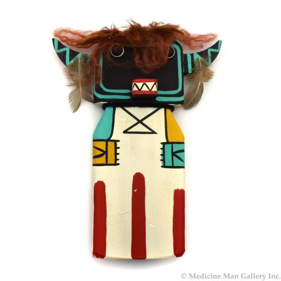 Ted Puhuyesva, Hotevilla - Hopi Wukoqote (Big Head) Cradle Kachina (K1491)