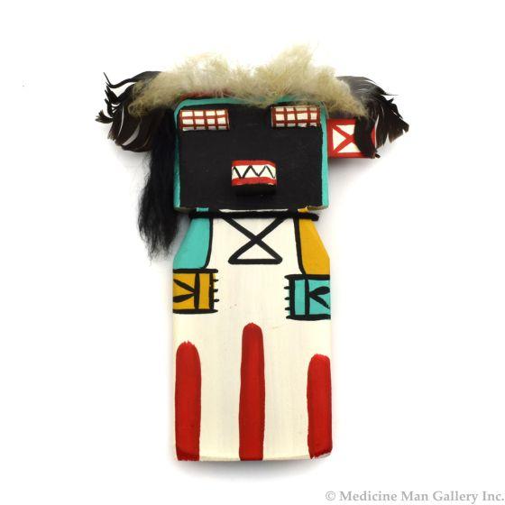 Ted Puhuyesva, Hotevilla - Hopi Homsona (He Cuts Your Hair) Cradle Kachina