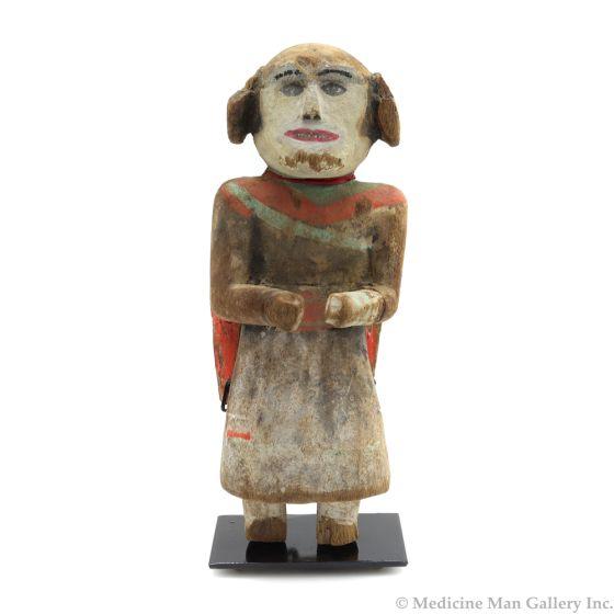 "Hopi Mana Kachina c. 1900-10s, 8"" x 3"" x 3"" (K1524)"