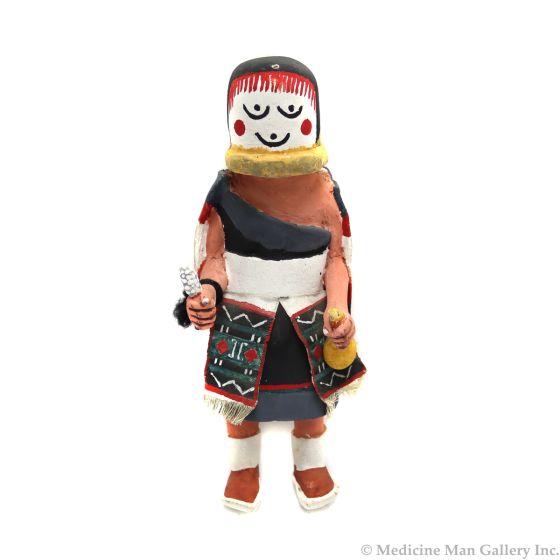 "Hopi Kachina c. 1950s, 8"" x 3.5"" x 3.5"" (K1576)"