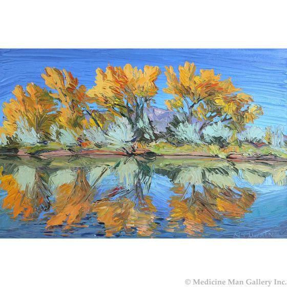 SOLD Louisa McElwain (1953-2013) - Autumn Bosque