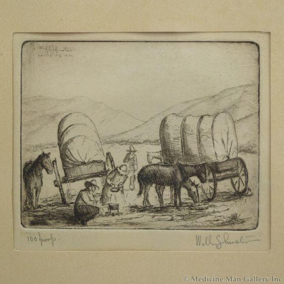 Will Shuster (1893-1969) - La Hora de Comer