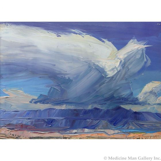 SOLD Louisa McElwain (1953-2013) - Cloudburst
