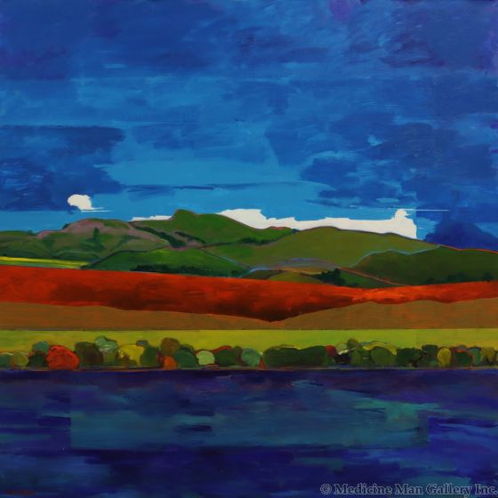 Mark Bowles - Landscape with Clouds (PLV90275-0220-004)