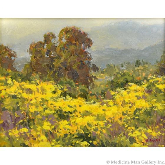 Gregory Hull - Springtime Bluffs