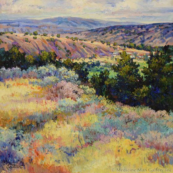 Tom Talbot - New Mexico Village (PLV91550-1119-003)