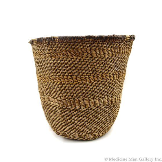 """Apache Basket c. 1900-30s, 11"""" x 11"""" (SK91646A-0421-003)"""