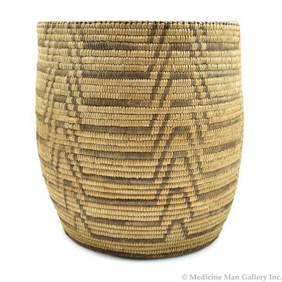 """Pima Basket c. 1900-20s, 10.5"""" x 9.5"""""""