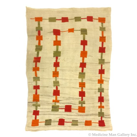 "Navajo Transitional Blanket c. 1890s, 82"" x 56"" (T5559)"
