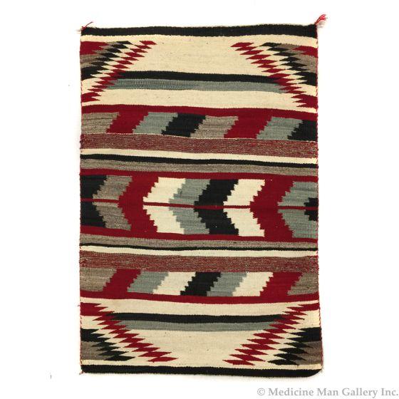 """Navajo Ganado Rug c. 1950s, 54.5"""" x 35"""" (T90253B-0320-008)"""