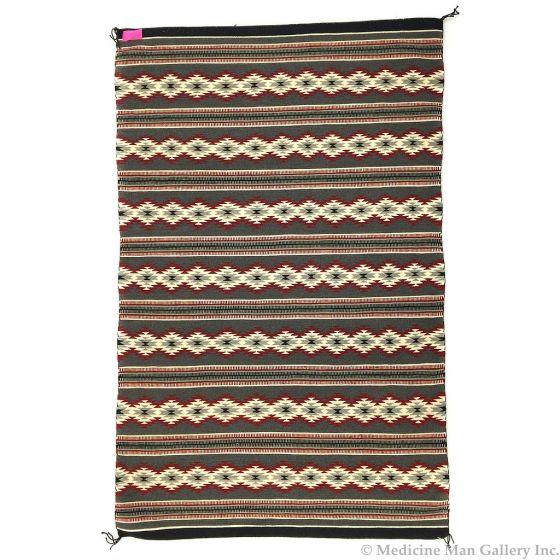"""Navajo Crystal Rug c. 1990s, 73"""" x 46"""" (T92498-0316-069)"""