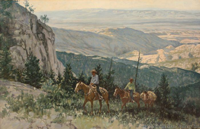 SOLD Ross Stefan (1934-1999) - Mountain Top Way