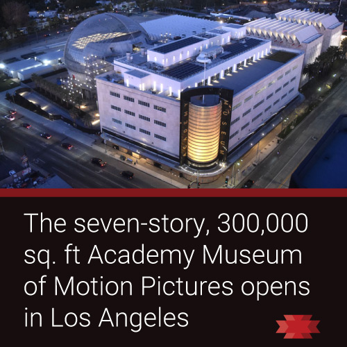 Read theEssential West article on the various attractions and exhibitions inside the Academy Museum of Motion Pictures which opened in Los Angeles on Sept. 30, 2021.