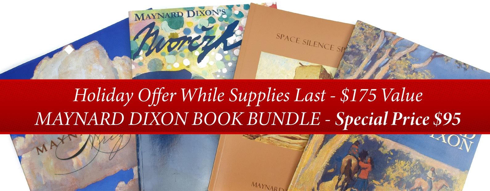 MAYNARD DIXON BOOK BUNDLE