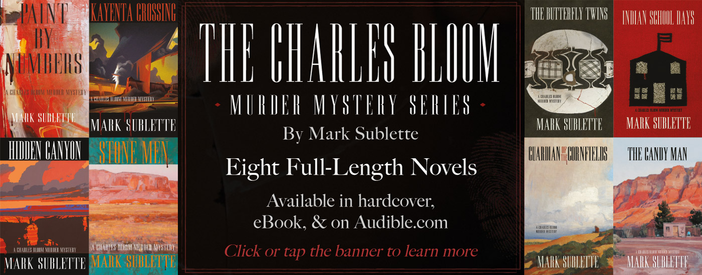 The Charles Bloom Murder Mystery Series by Mark Sublette Available Now