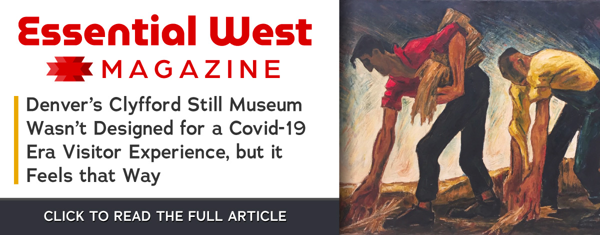 Essential West article on Denver's Clyfford Still Museum