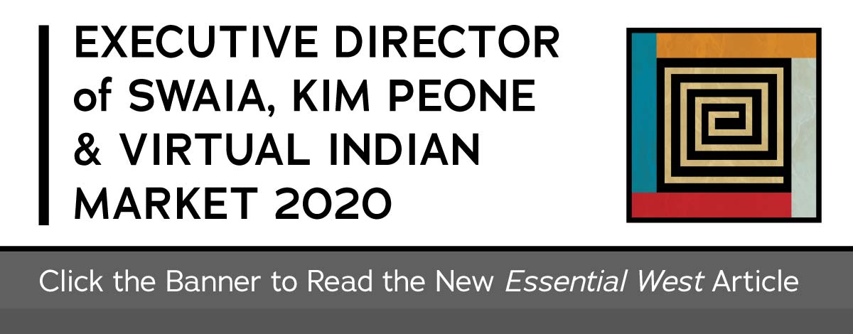 Essential West article on KIM PEONE & VIRTUAL INDIAN MARKET 2020