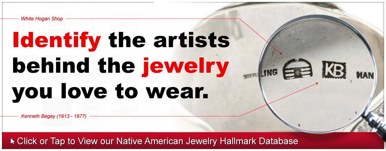 Native American Indian Jewelry Hallmark Identification