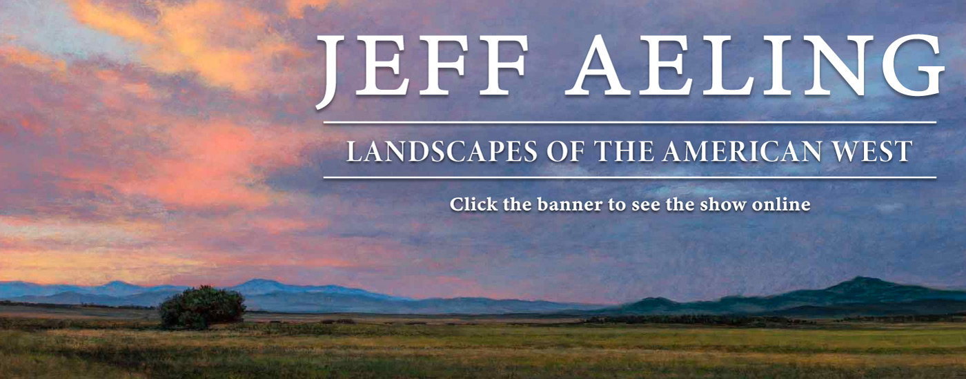 Jeff Aeling's New Works - Opens February 26 - paintings available now
