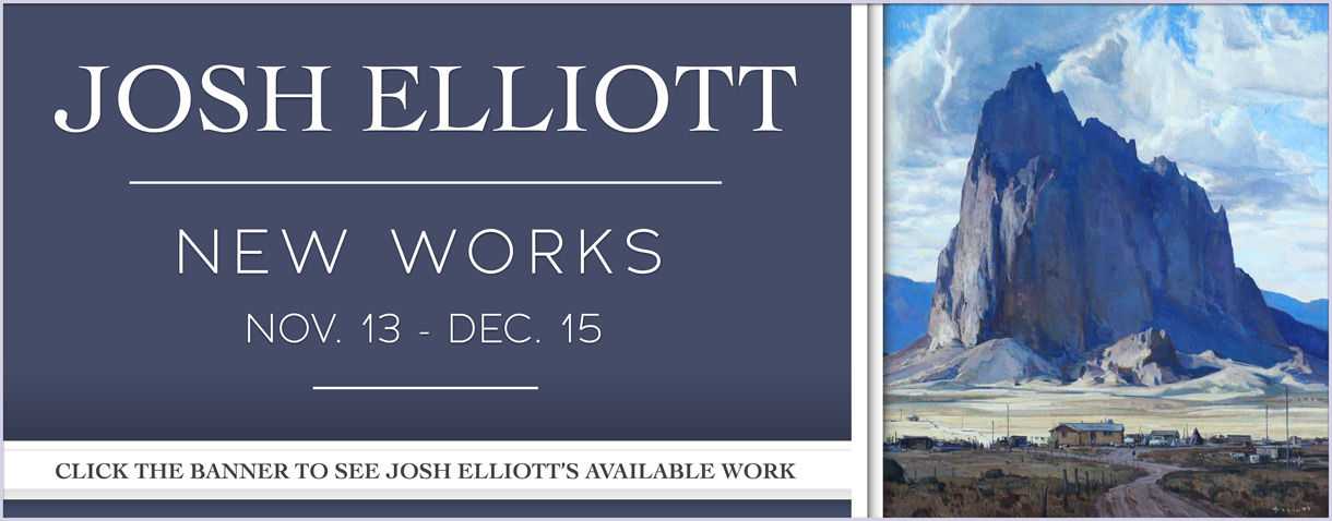 Josh Elliott - New Works, Opening November 13, 2020