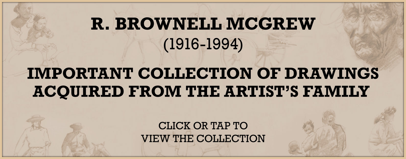 R. Brownell McGrew (1916-1994) Important Collection of Drawings