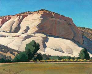 Maynard Dixon, White Butte, Mount Carmel, Utah