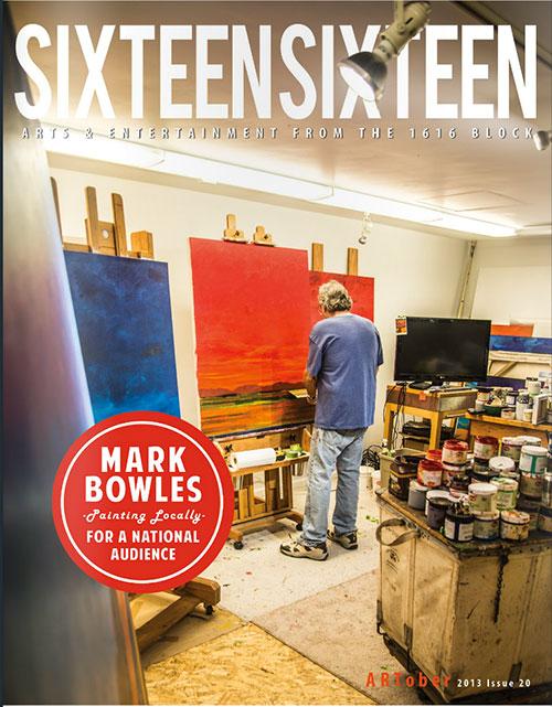 Mark Bowles Cover Sixteen Sixteen