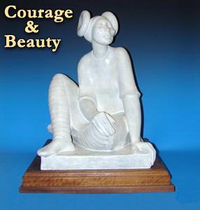 "Shirley Thomson-Smith, Hopi Maiden, Bronze Edition of 25, 20"" x 15"" x 14"""