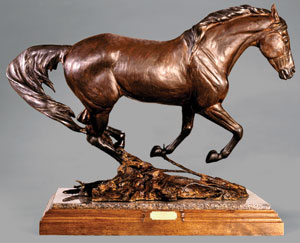 Veryl Goodnight, Running the Chaparral, Bronze Edition of 25, 27