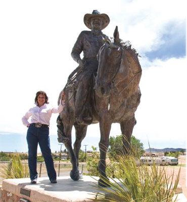 Deborah Copenhaver-Fellows, A Tribute to Ranching, Monumental Bronze