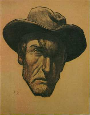 Maynard Dixon (1875-1946), Self-Portrait