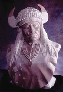 Oreland Joe, Piegan Ritual, Marble, 31