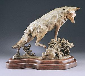 Jan Mapes, Rabbit Brush, Bronze, 16