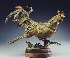 Jan Mapes, Senor Rapido, Bronze Edition of 15, 14