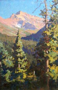 Maynard Dixon, Snow Patch, Montana, 1917
