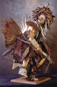 Oreland Joe, Whirlwind, Bronze, 24