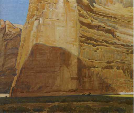 "Maynard Dixon (1875-1946), Red Butte, oil on canvas, 30""x40"", signed lower right and dated 1935"