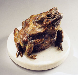 Jan Mapes, Sumo Toad, Bronze Edition of 15, 4