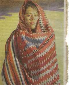 Ray Roberts, Navajo Woman