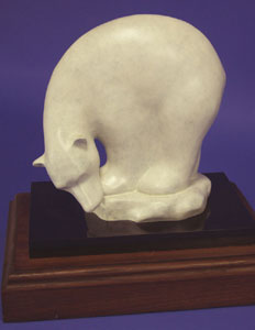 "Shirley Thomson-Smith, Adrift, Bronze Edition of 35, 10"" x 10"""