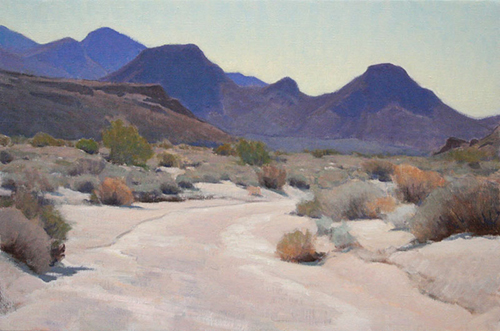 Glenn Dean, Dry Bed, oil, 20