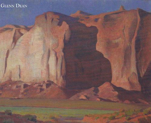 Glenn Dean, Desert Giant, Oil, 40